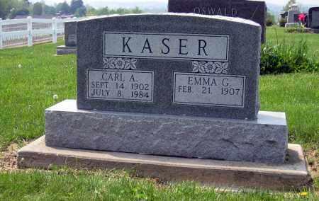 KASER, CARL A. - Holmes County, Ohio | CARL A. KASER - Ohio Gravestone Photos