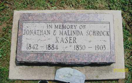 KASER, JONATHAN - Holmes County, Ohio   JONATHAN KASER - Ohio Gravestone Photos