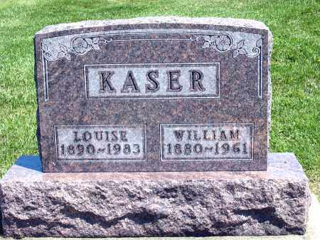 KASER, LOUISE - Holmes County, Ohio | LOUISE KASER - Ohio Gravestone Photos