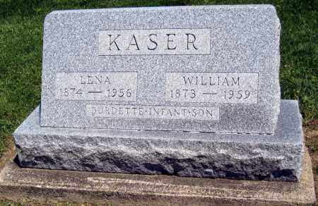 KASER, LENA - Holmes County, Ohio | LENA KASER - Ohio Gravestone Photos