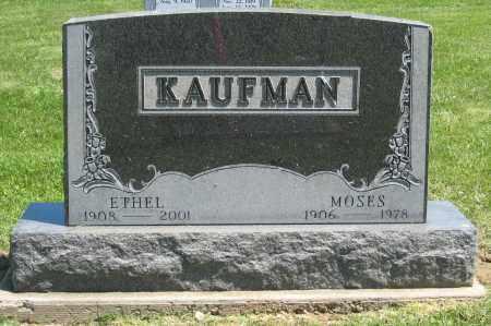 KAUFMAN, MOSES - Holmes County, Ohio | MOSES KAUFMAN - Ohio Gravestone Photos