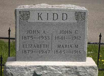 KIDD, ELIZABETH - Holmes County, Ohio | ELIZABETH KIDD - Ohio Gravestone Photos