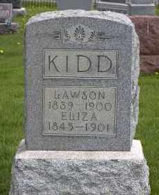 KIDD, LAWSON JR. - Holmes County, Ohio | LAWSON JR. KIDD - Ohio Gravestone Photos