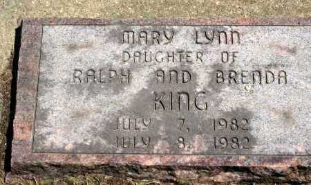 KING, MARY LYNN - Holmes County, Ohio | MARY LYNN KING - Ohio Gravestone Photos