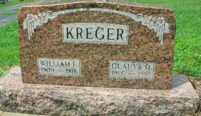 KREGER, WILLIAM F. - Holmes County, Ohio   WILLIAM F. KREGER - Ohio Gravestone Photos