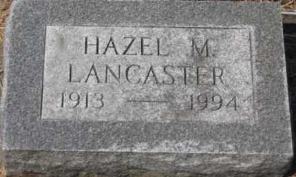 LANCASTER, HAZEL M. - Holmes County, Ohio | HAZEL M. LANCASTER - Ohio Gravestone Photos