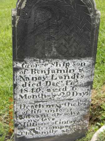 LANDIS, BENJAMIN - Holmes County, Ohio | BENJAMIN LANDIS - Ohio Gravestone Photos