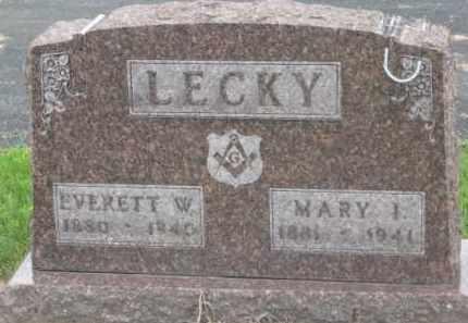 LECKY, EVERETT W. - Holmes County, Ohio | EVERETT W. LECKY - Ohio Gravestone Photos