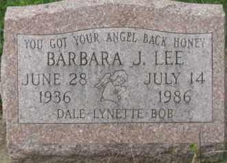 LEE, BARBARA J. - Holmes County, Ohio | BARBARA J. LEE - Ohio Gravestone Photos