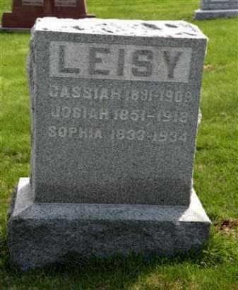 LEISY, CASSIAH - Holmes County, Ohio | CASSIAH LEISY - Ohio Gravestone Photos