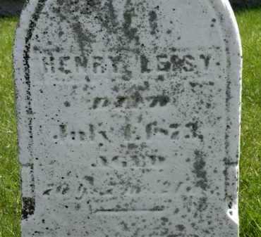LEISY, HENRY - Holmes County, Ohio | HENRY LEISY - Ohio Gravestone Photos