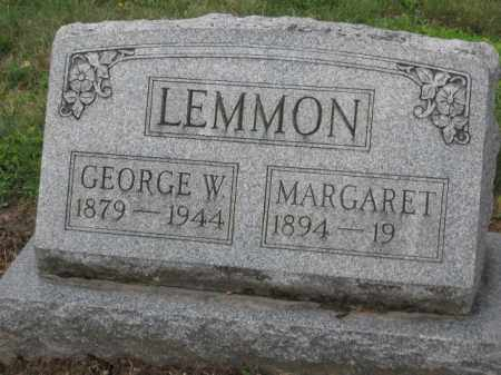 LEMMON, MARGARET - Holmes County, Ohio | MARGARET LEMMON - Ohio Gravestone Photos