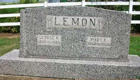 LEMON, GEORGE R. - Holmes County, Ohio | GEORGE R. LEMON - Ohio Gravestone Photos