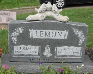 LEMON, THOMAS J. - Holmes County, Ohio   THOMAS J. LEMON - Ohio Gravestone Photos