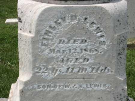 LEWIS, FINLEY D. - Holmes County, Ohio   FINLEY D. LEWIS - Ohio Gravestone Photos