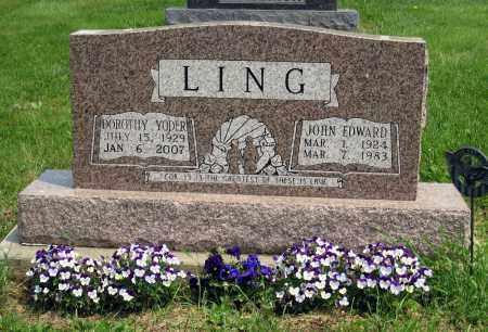 LING, DOROTHY - Holmes County, Ohio | DOROTHY LING - Ohio Gravestone Photos