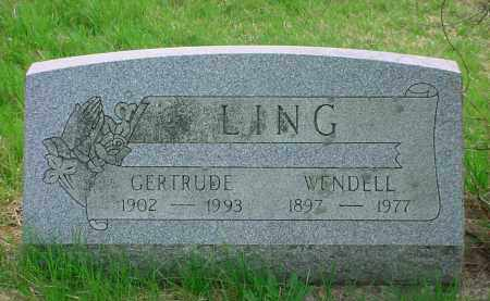 LING, WENDELL - Holmes County, Ohio | WENDELL LING - Ohio Gravestone Photos