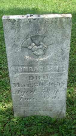 LINT, CONRAD - Holmes County, Ohio   CONRAD LINT - Ohio Gravestone Photos