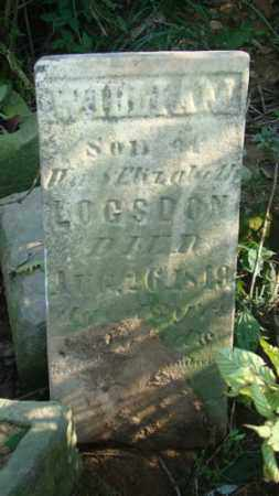 LOGSDON, WILLIAM - Holmes County, Ohio | WILLIAM LOGSDON - Ohio Gravestone Photos