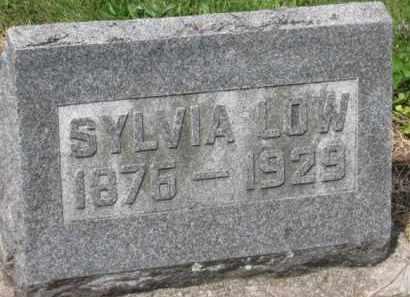 LOW, SYLVIA - Holmes County, Ohio | SYLVIA LOW - Ohio Gravestone Photos