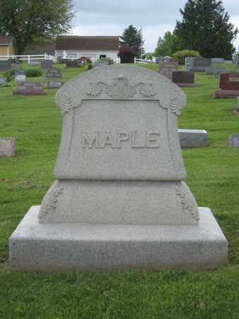 MAPLE, MONUMENT - Holmes County, Ohio | MONUMENT MAPLE - Ohio Gravestone Photos