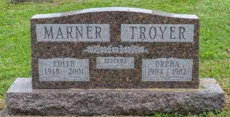MARNER, EDITH - Holmes County, Ohio | EDITH MARNER - Ohio Gravestone Photos