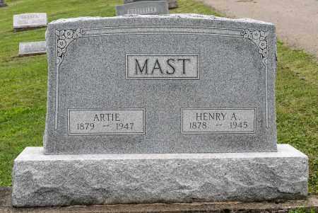 MAST, HENRY ADAM - Holmes County, Ohio | HENRY ADAM MAST - Ohio Gravestone Photos