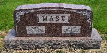 MAST, CELSUS - Holmes County, Ohio | CELSUS MAST - Ohio Gravestone Photos