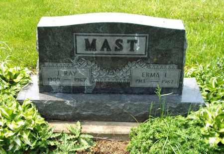 MAST, J. RAY - Holmes County, Ohio | J. RAY MAST - Ohio Gravestone Photos