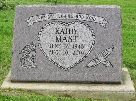 MAST, KATHY - Holmes County, Ohio   KATHY MAST - Ohio Gravestone Photos