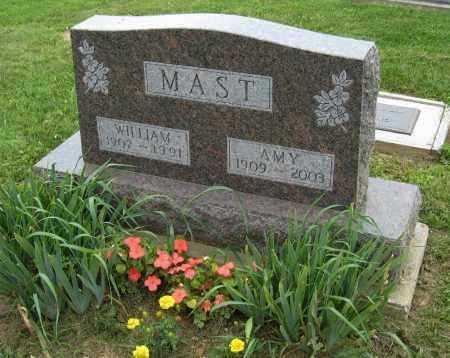 MAST, AMY - Holmes County, Ohio | AMY MAST - Ohio Gravestone Photos