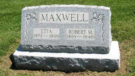 MAXWELL, ETTA - Holmes County, Ohio | ETTA MAXWELL - Ohio Gravestone Photos