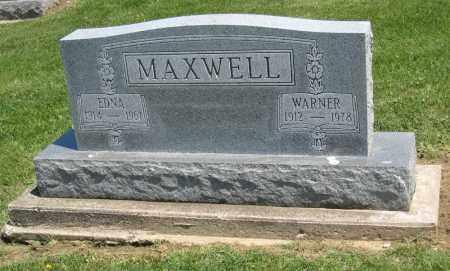 MAXWELL, EDNA - Holmes County, Ohio   EDNA MAXWELL - Ohio Gravestone Photos