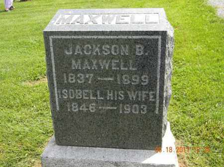 MAXWELL, JACKSON B. - Holmes County, Ohio | JACKSON B. MAXWELL - Ohio Gravestone Photos