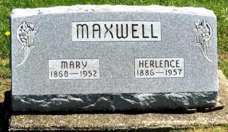 MAXWELL, MARY - Holmes County, Ohio | MARY MAXWELL - Ohio Gravestone Photos