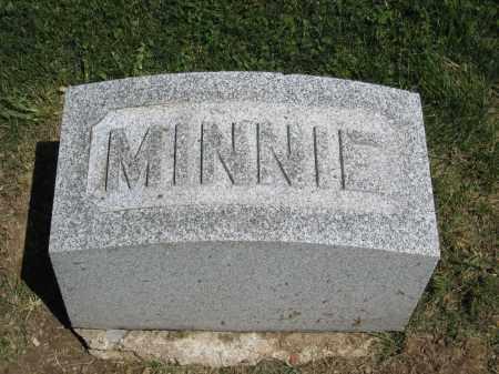 MAXWELL, MINNIE - Holmes County, Ohio | MINNIE MAXWELL - Ohio Gravestone Photos
