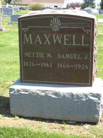 MAXWELL, NETTIE M. - Holmes County, Ohio | NETTIE M. MAXWELL - Ohio Gravestone Photos
