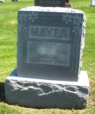 MAYER, CHARLES C - Holmes County, Ohio   CHARLES C MAYER - Ohio Gravestone Photos