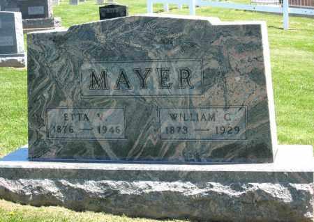 MAYER, ETTA V. - Holmes County, Ohio | ETTA V. MAYER - Ohio Gravestone Photos