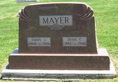 MAYER, EMMA J. - Holmes County, Ohio   EMMA J. MAYER - Ohio Gravestone Photos
