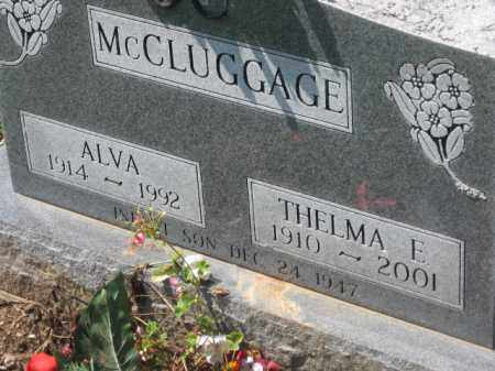 MCCLUGGAGE, THELMA - Holmes County, Ohio | THELMA MCCLUGGAGE - Ohio Gravestone Photos