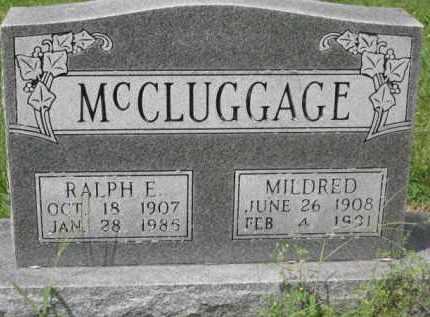 WATSON MCCLUGGAGE, MILDRED - Holmes County, Ohio | MILDRED WATSON MCCLUGGAGE - Ohio Gravestone Photos