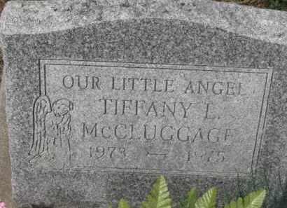 MCCLUGGAGE, TIFFANY L. - Holmes County, Ohio   TIFFANY L. MCCLUGGAGE - Ohio Gravestone Photos