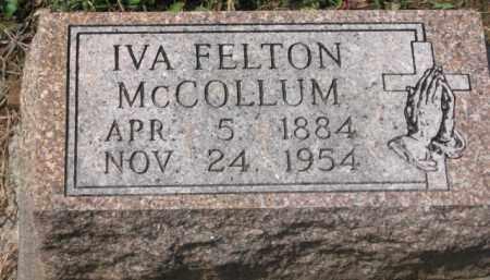 MCCOLLUM, IVA - Holmes County, Ohio | IVA MCCOLLUM - Ohio Gravestone Photos