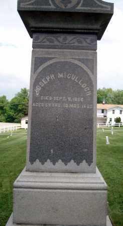 MCCULLOCH, JOSEPH - Holmes County, Ohio | JOSEPH MCCULLOCH - Ohio Gravestone Photos