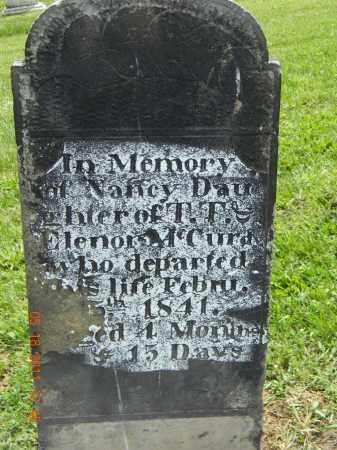 MCCURDAY, NANCY - Holmes County, Ohio | NANCY MCCURDAY - Ohio Gravestone Photos