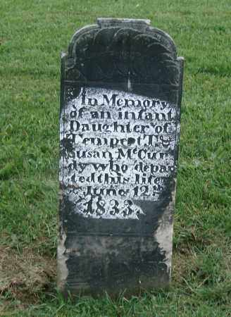 MCCURDY, INFANT DAUGHTER - Holmes County, Ohio | INFANT DAUGHTER MCCURDY - Ohio Gravestone Photos