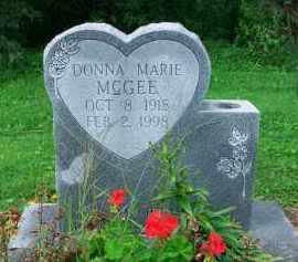 MCGEE, DONNA MARIE - Holmes County, Ohio | DONNA MARIE MCGEE - Ohio Gravestone Photos