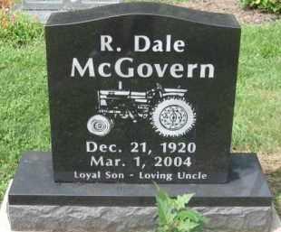 MCGOVERN, R. DALE - Holmes County, Ohio | R. DALE MCGOVERN - Ohio Gravestone Photos