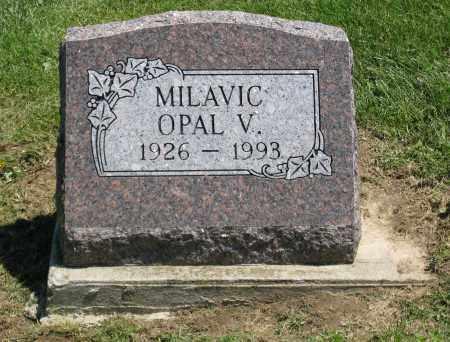 MILAVIC, OPAL V. - Holmes County, Ohio | OPAL V. MILAVIC - Ohio Gravestone Photos